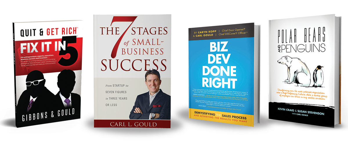 Books on business growth, coaching and mentoring